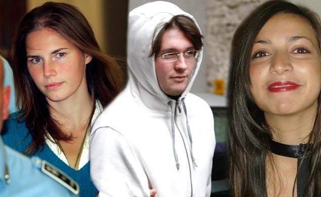 Amanda Knox, Raffaele Sollecito, Meredith Kercher