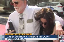 Casey Anthony bankruptcy hearing. Living off hand outs.