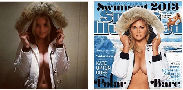 Kate Upton's look alike