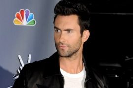 Adam Levine would like to introduce his new girlfriend.