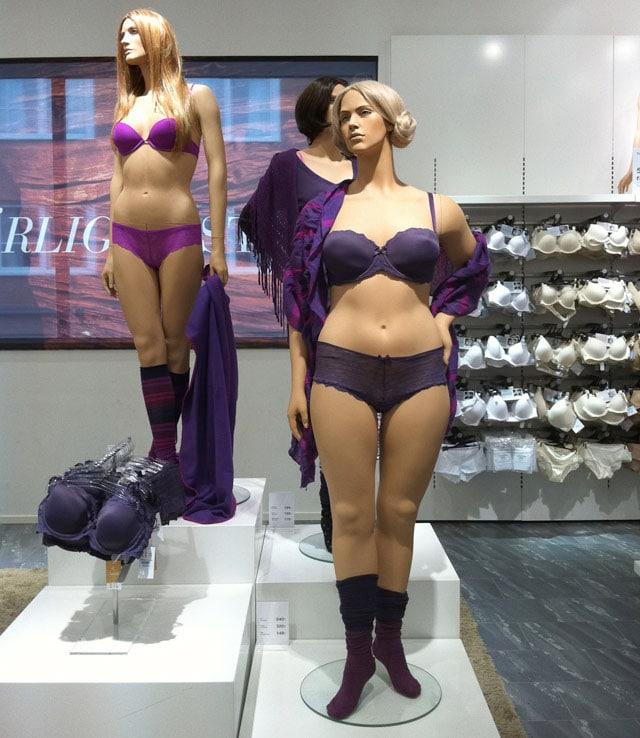 Swedish mannequin