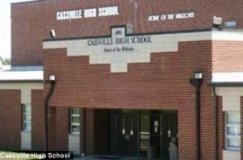 High school girls basketball team poured urine in rival water cooler.