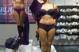 Here's a Swedish mannequin that is not skinny.