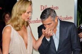 George Clooney rumored to split from girlfriend Stacy Keibler.