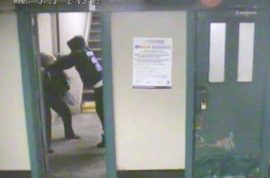 Watch a brutal nyc subway mugging take place.