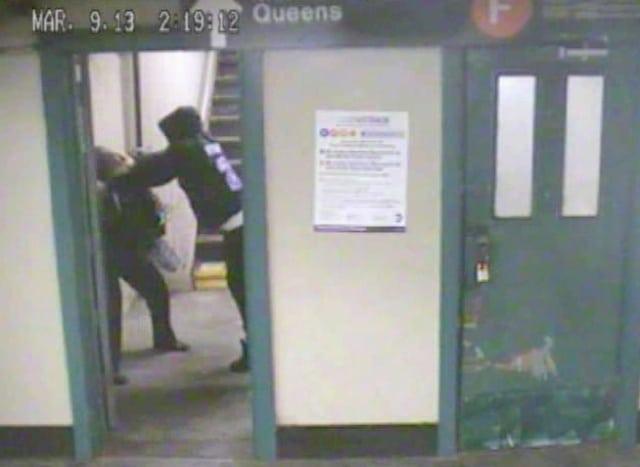 nyc subway mugging