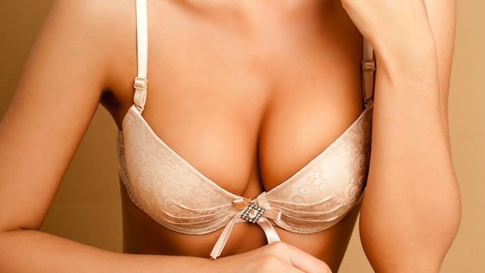 bras make women's breasts saggy
