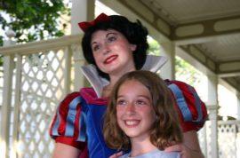 Life as a Disneyland Princess exposed.