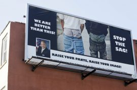 Saggy pants banned in Louisana town. Racial profiling?