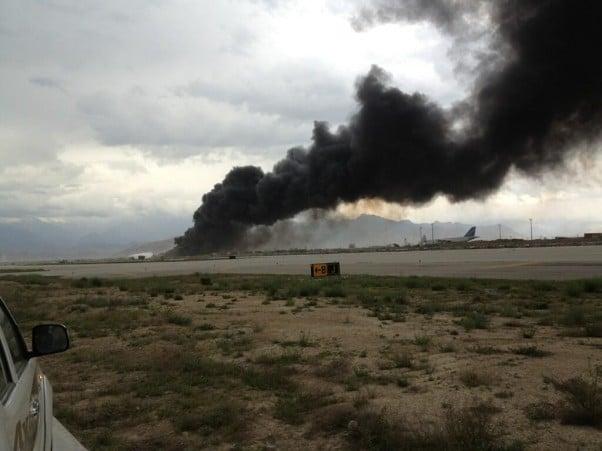 Bagram airfield crash