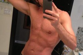 Perez Hilton shows off his abs and makes the world swoon.