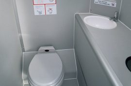 Oh really? Plane toilets set to shrink to make way for more airline seats.