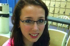 Rehtaeh Parsons buried. Mother breaks down.