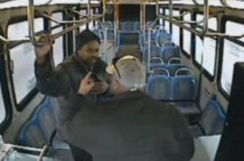 Nebraska bus driver assaults passenger who asked too many damn questions.