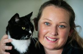 Cat spends a year surviving off McDonald's burgers. Refuses to change diet.