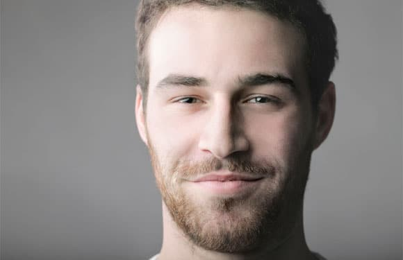 Ten day beard growth