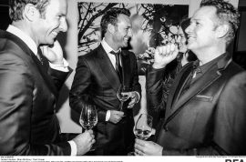Dom Perignon hosts dinner for James Houston: 'Natural Beauty.'