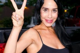 Octomom Nadya Suleman trashes house, 'smelled like urine.'