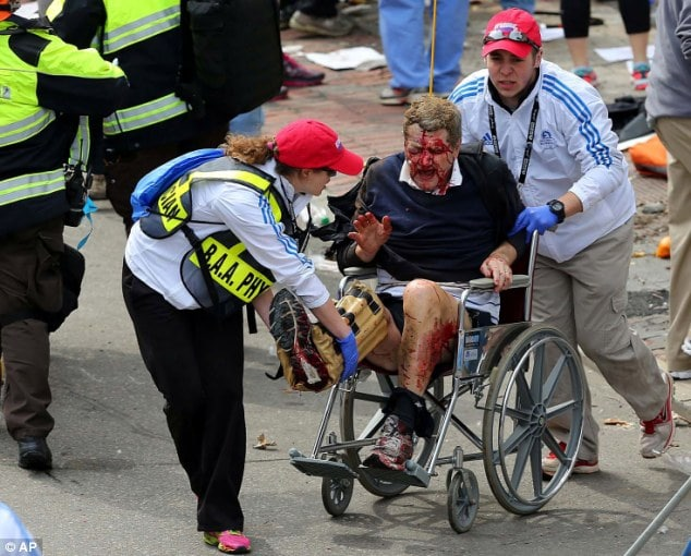 Boston Marathon Bomb