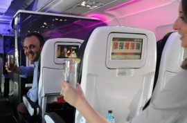 Virgin America introduces new 'hit on' option for horny passengers.