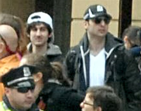 Dzhokhar A. Tsarnev and his brother Tamerlan Tsarnaev