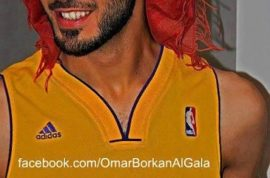 Omar Borkan Al Gala is the too handsome bixch from Saudi Arabia that got deported.