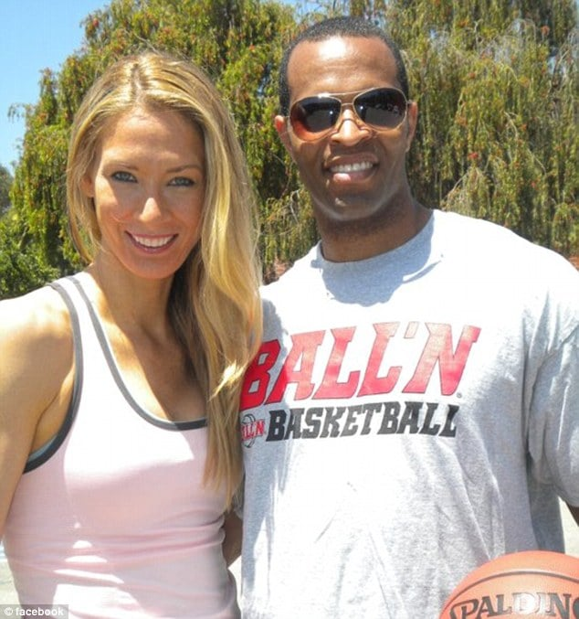 Carolyn Moos and Jason Collins