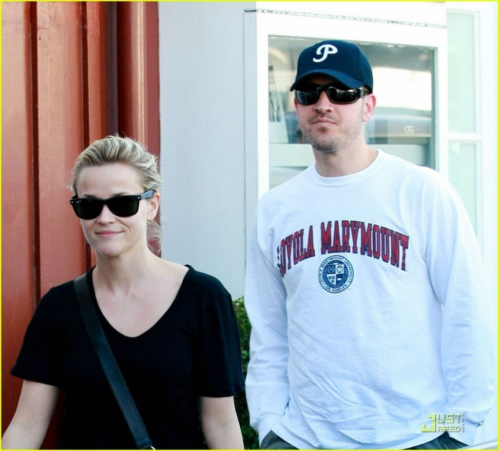 Reese Witherspoon and Jim Toth.