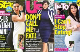 Kim Kardashian is not fat insists Kendall Jenner.