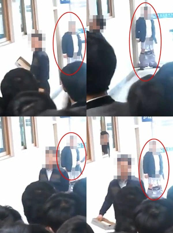 South Korean teacher beats up student then masturbates in front of class