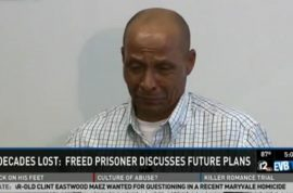 Louis Taylor a free man after 42 years behind bars. Was he set up?