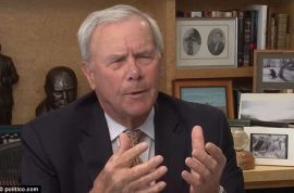 Tom Brokaw is pissed off that Lindsay Lohan has been invited to the White House Correspondent's Dinner.