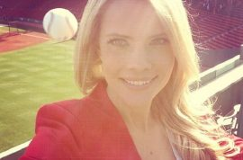 Fox Sun Sports reporter, Kelly Nash nearly gets killed whilst taking selfie.