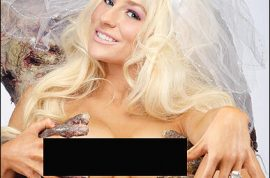 Courtney Stodden goes nude as she poses for Girls and Corpses.