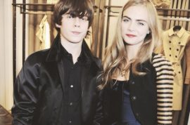 Yes Cara Delevingne is officially dating Jake Bugg. An odd pair…