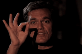 Michael Shannon gives the perfect Deranged Sorority letter reading courtesy of Rebecca Martinson.