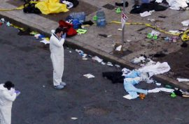 Boston Marathon Explosion. Police insist no suspect or arrest made.