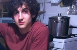 Dzhokhar Tsarnaev tweeted 'lol these people are cooked' on day of Boston Marathon bombing.