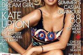 Kate Upton delivers her first US Vogue cover. How did she do it?