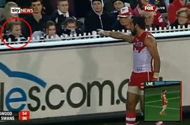 Did Adam Goodes overreact to the 13 year old racial slur?