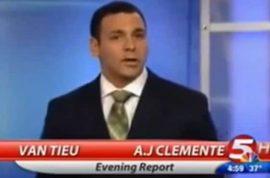 A.J Clemente, fired anchor lands bartending gig at $2.23 an hour.