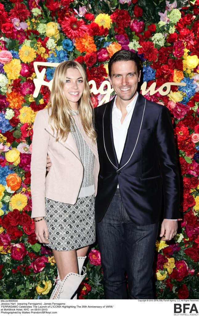 FERRAGAMO Celebrates The Launch of L'ICONA Highlighting The 35th Anniversary of VARA