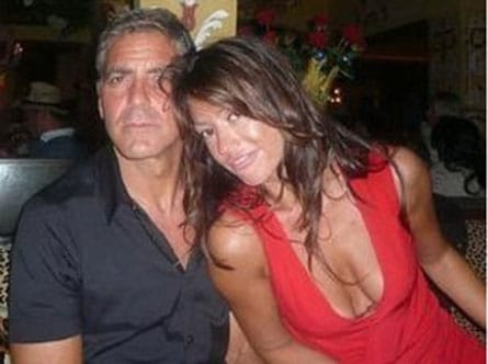 George Clooney and Monika Jakisic