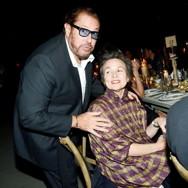 Julian Schnabel and Laurie Anderson