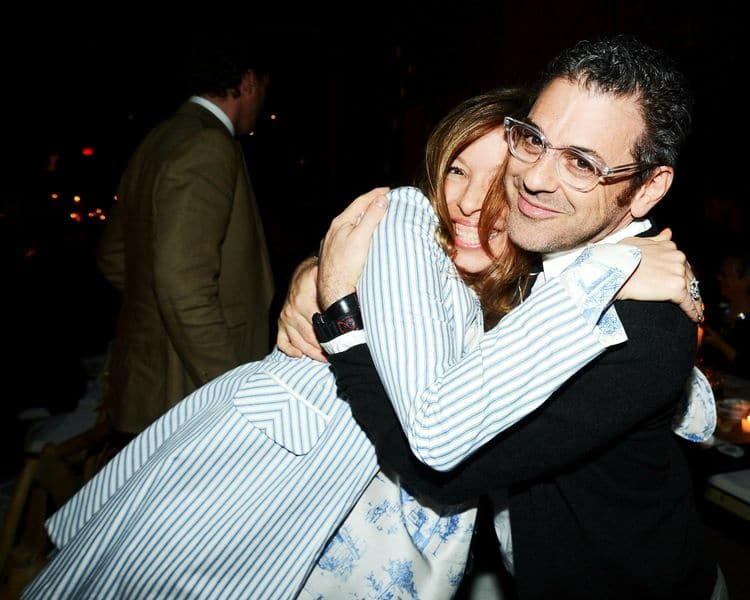 Anne Pasternak and Tom Sachs