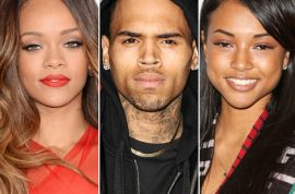 Chris Brown is now pursuing Karrueche Tran. Rihanna doesn't give a shit.