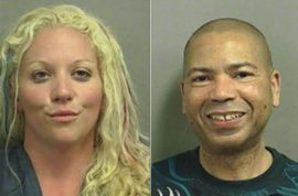 Florida couple who got arrested for having sex on beach take the best mugshots ever.
