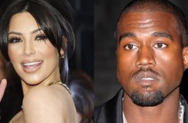 Kim Kardashian can't get Kayne West to open the door for her.