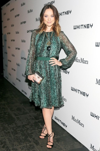 Olivia Wilde at the Whitney Museum Art Party