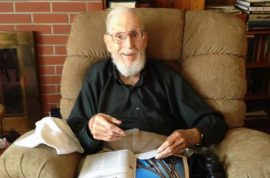 John Potter, a 91-year-old war veteran is evicted by his daughter from the home he built